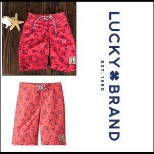 Boys Lucky Brand Swim Trunks